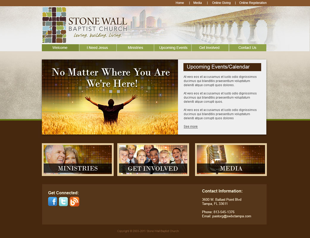 church website design and church logo design church website design ideas - Church Website Design Ideas